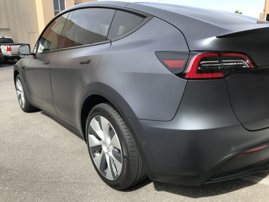 2020 Tesla Model Y Back Third