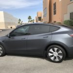 2020 Tesla Model Y Side View